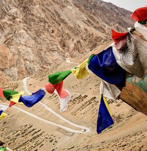Banderes tibetanes