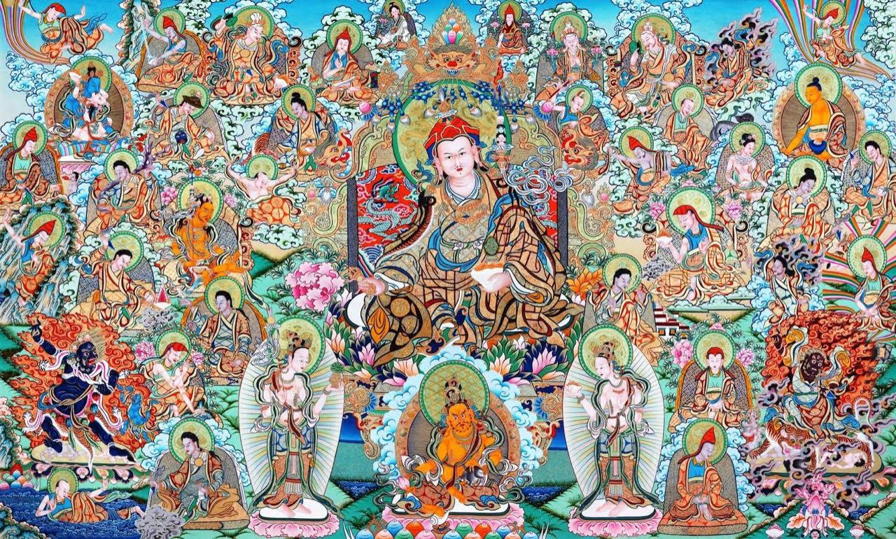 Aquest dilluns 22 de febrer és el dia de Guru Rinpoche