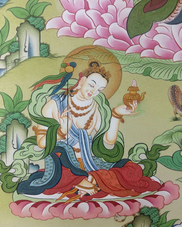 Yeshe-Tsogyal-Thangka
