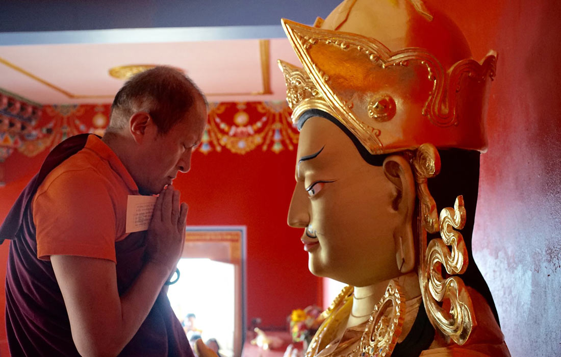 El dijous 16 de setembre és el dia de Guru Rinpoche